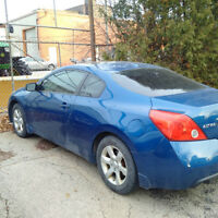 2008 Nissan Altima 2.5s Coupe (2 door)