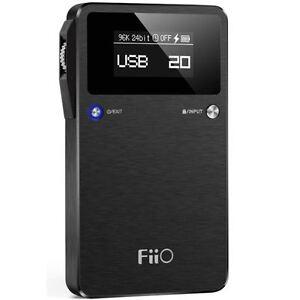 Fiio E17K ALPEN2 Portable Headphone Amp with USB Digital Audio Converter (DAC)