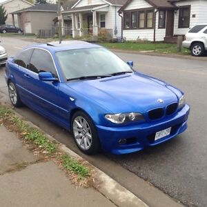 2005 BMW 325Ci Coupe Blue - Safetied & E-Tested Cambridge Kitchener Area image 9