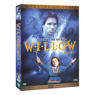 WILLOW 1988 DVD (2003 SPECIAL EDITION, NEW RARE DVD ) ~ Val Kilmer