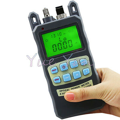 Fiber Optical Power Meter -7010dbm 10mw 10km Cable Tester Visual Fault Locator