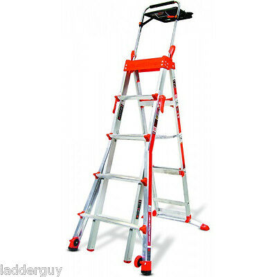 Little Giant Select Step Ladder 5-8 AirDeck 15125 New!