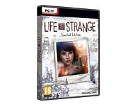 life is strange limited edition PC DVD