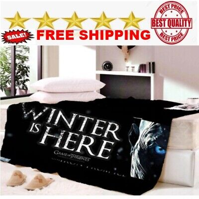 Game of Thrones Fleece Blanket Sofabed full/king/queen size unisex NEW BEST