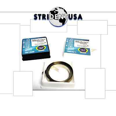5 Rolls Dental Matrix Bands 14 Stainless Steel 50 Feet Total