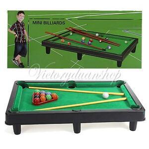 mini billiard ball snooker tabletop pool table top desktop game set toy kid gift. Black Bedroom Furniture Sets. Home Design Ideas