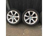 For sale Bmw alloys wheels. 18 inches 190
