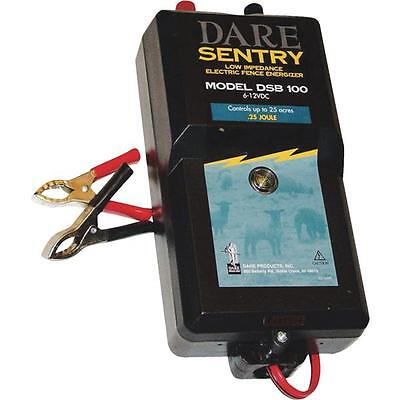 Dare 6v To 12v Sentry 25 Acre Electric Fencer Fence Charger Dsb100