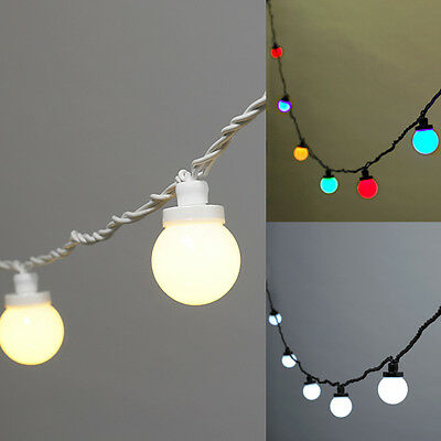 25 Metres LED Outdoor Festoon Connectable Party Lights by Lights4fun, 3 Colours