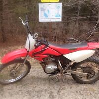 2007 CRF100F with papers