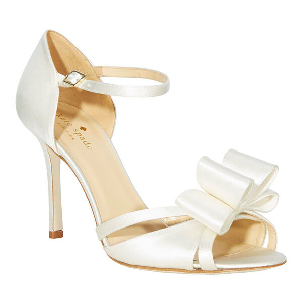 The top 5 brands for wedding shoes ebay the kate spade new york company has broadened their expertise in handbags to become a top name in shoes as well some of the most popular kate spade wedding junglespirit Images