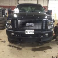 2008 f350 Harley Davidson addition with Plow