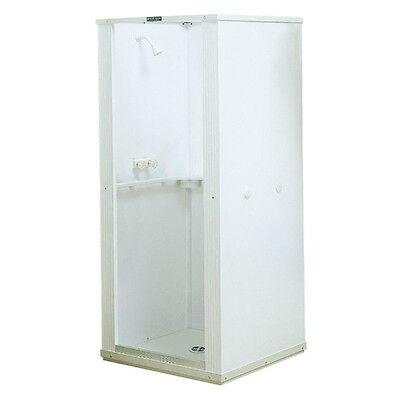 Shower Stall Kits Walk In One Piece Corner Bathroom Enclosure Walls Panels Drain