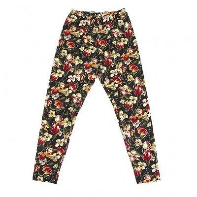 Jean-Paul GAULTIER FEMME Flower Print Pants Size 40(K-47746)