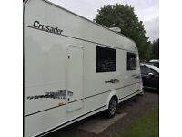 ELDDIS CRUSADER TYPHOON 4berth Caravan