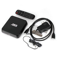M8 QuadCore Very fast TV streaming Box with KODI