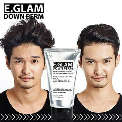 E.GLAM Down Perm/ Men Side Hair Mohican Style Self Speedy Easy Kit