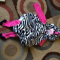 Carter's zebra costume size 9 months