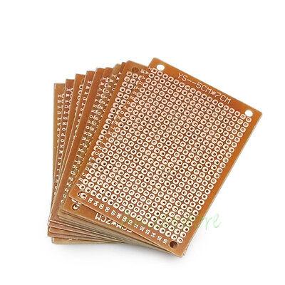 10pcs 50mm70mm Diy Soldering Prototype Copper Pcb Printed Circuit Board 2