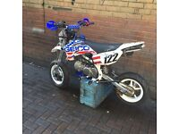 Road legal pit bike 125, 86,65