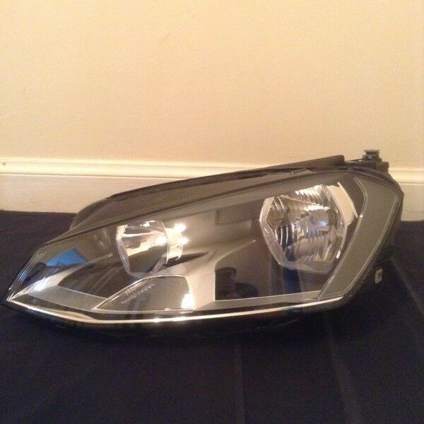 Vw golf mk7 front head light passenger side