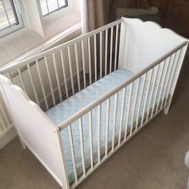 Babies cot sheringham