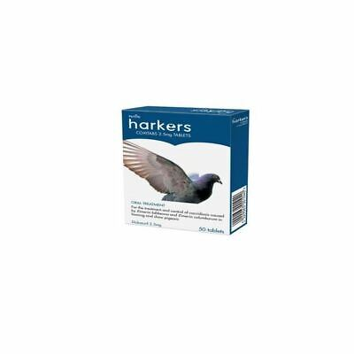Harkers Coxitabs Petlife Coccidiosis Treatment for Homing Show Pigeons 50 Tablet