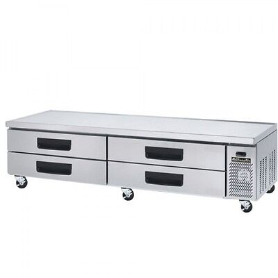 Blue Air Bacb96m 96-inch Refrigerated Equipment Stand Chefs Base - 4 Drawers
