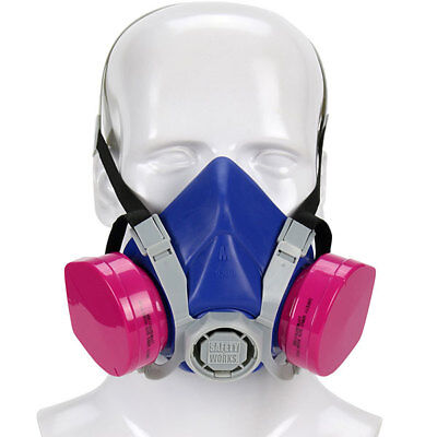 Pip Swx00319 Safety Works Half-mask Toxic Dust Respirator Box Of6
