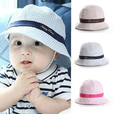 Baby Infant Hat Cap - Hot Summer Baby Kid Sun Cap Infant Boy Girl Beach  Bucket Hat Visor Cap Headwear
