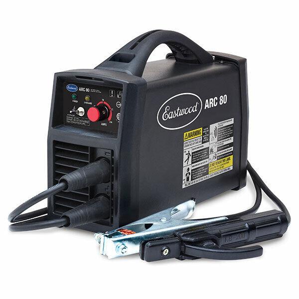 Eastwood ARC 80 Inverter Stick Welder Hot Start 110 Volt Amparage Adjustment