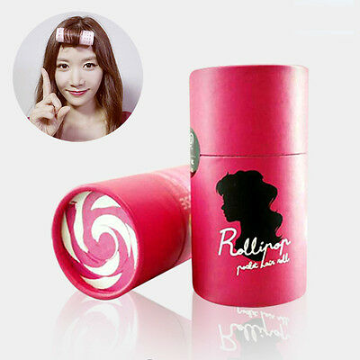 Rollipop Hair Bangs Setting Hot Rollers Styling Tools Curlers Compact Clip Women