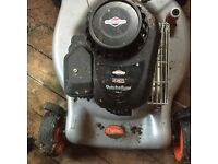 Petrol,lawn mover could be repaired - for spares £10