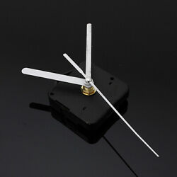 White Hands Silent Quartz Wall Clock Movement Repair Parts Replacement   U W US
