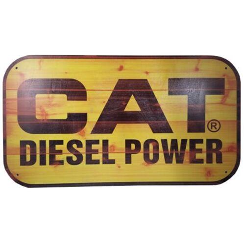 Caterpillar Diesel Power Vintage Wooden Sign Shop Garage Diesel