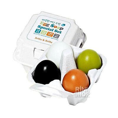 [Holika Holika] Egg Skin Egg Soap Special Set 4 type 50g x 4pcs Rinishop