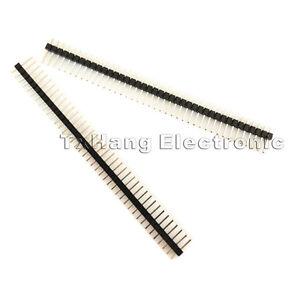 10PCS-40Pin-2-54mm-Single-Row-Straight-Male-Pin-Header-Strip-PBC-Ardunio