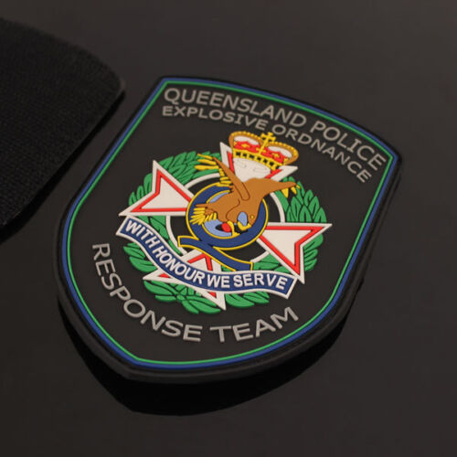 Australia - Queensland Police Explosive Ordnance Response Team Rubber Patch