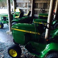John Deere tractors .Restored and immaculate!