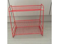 Retro / vintage kitchen plate rack