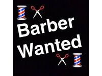 ***** BARBER WANTED *****