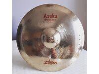 "Zildjian Azuka 15"" Multi-Crash Effects Cymbal - Rare"