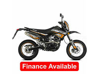 Lexmoto Adrenaline, 125cc Supermoto Enduro Trail Bike Motard *FINANCE*