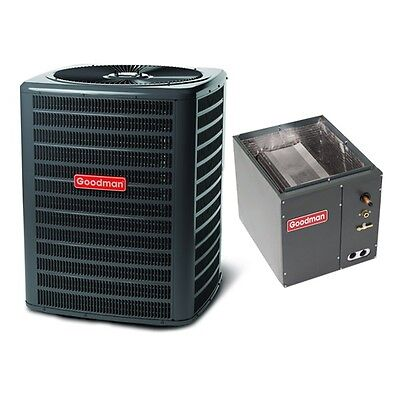 2 Ton 14 Seer Goodman Air Conditioning Condenser and Coil 2 Ton Air Conditioning