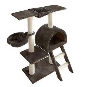 Cat Scratching Poles Post Furniture Tree 100cm Dark Grey Perth Perth City Area Preview