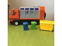 Playmobil bin lorry
