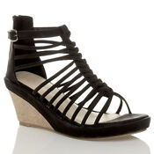 High Heel Gladiator Sandals