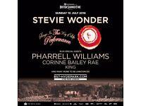 2x Stevie Wonder Tickets