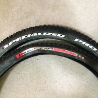 Specialized and Maxxis Tubeless tires