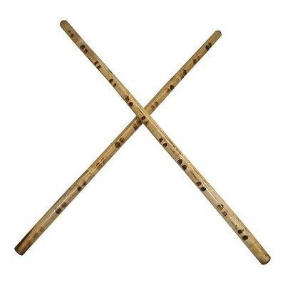2 Filipino Escrima Kali Arnis Martial Art Karate Tiger Rattan Fighting Sticks